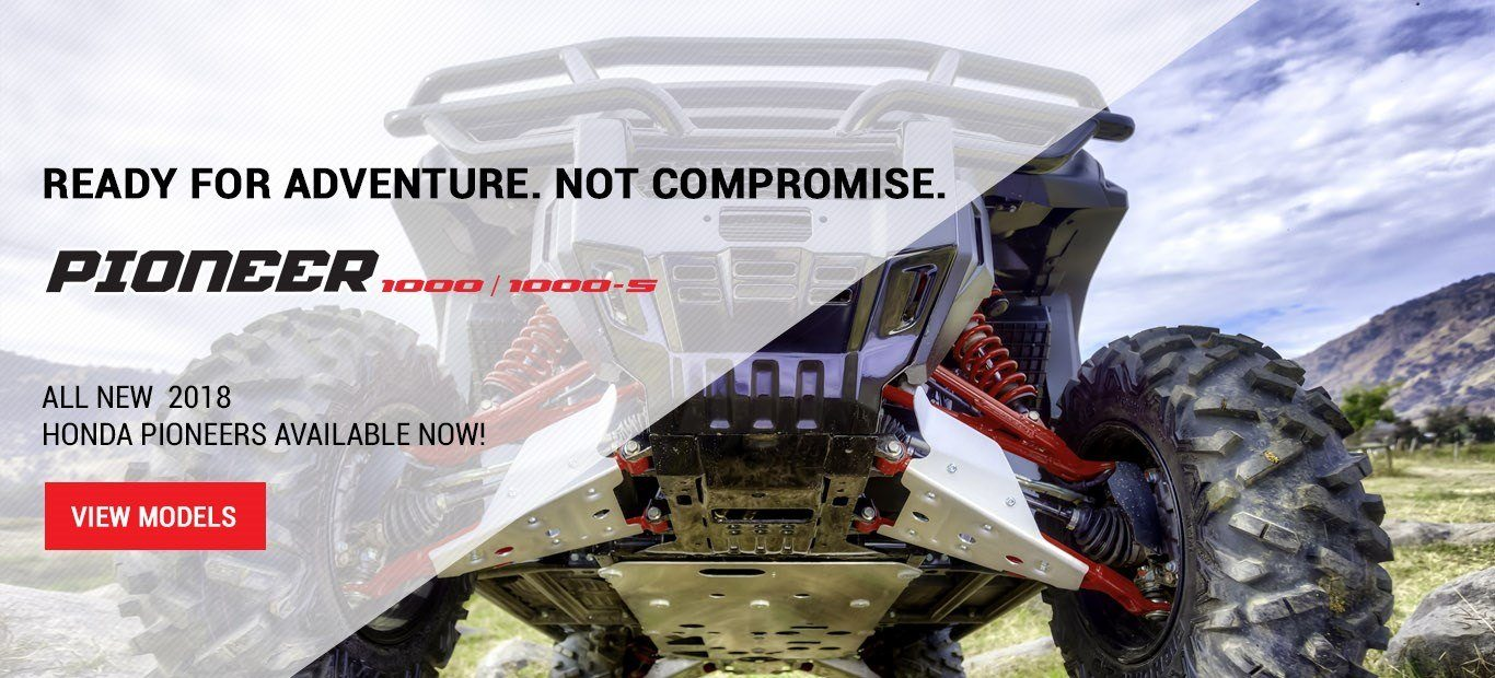 Shop Honda Pioneer ATVs From Weathers Honda Sales